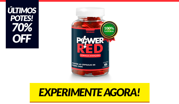 Power red - viagra feminino natural